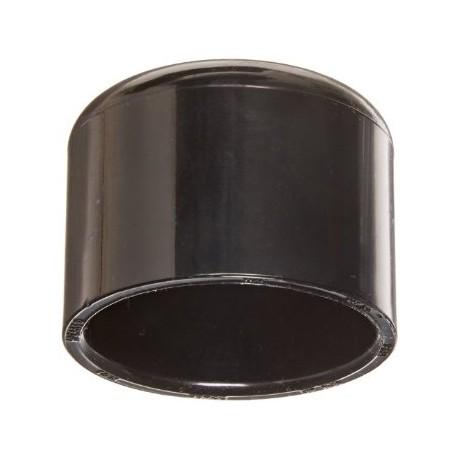 Cap de PVC Negro 1''