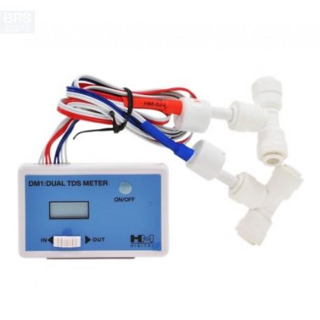 Dual Inline TDS Meter DM-1 - HM Digital osmosis